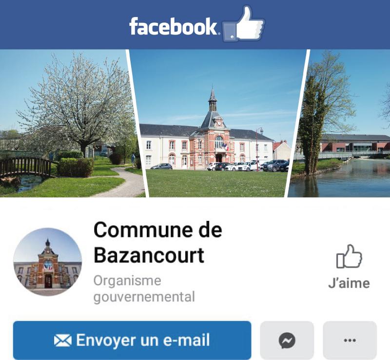 Bazancourt sur Facebook