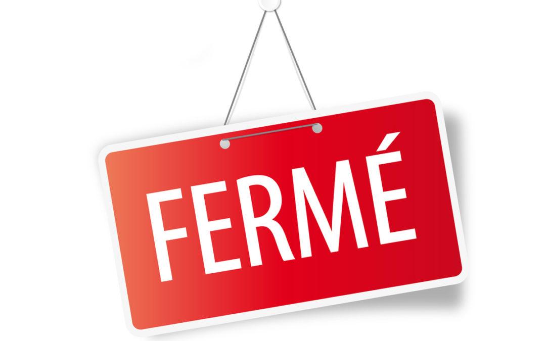 PARCS FERMÉS